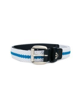 Armani Junior logo buckle belt - Blue