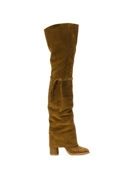 Casadei over-the-knee Daytime boots - Brown