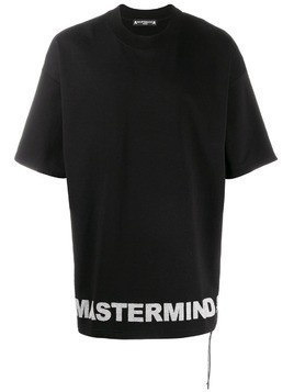 Mastermind Japan oversized logo T-shirt - Black