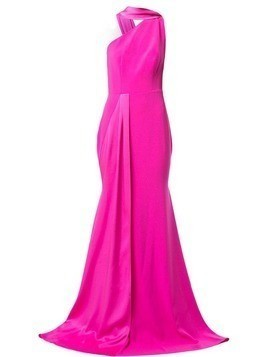 Alex Perry Hollis one shoulder gown - PINK