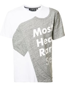 Mostly Heard Rarely Seen 'T-shirt' print T-shirt - White