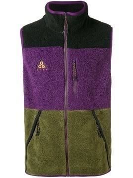 Nike high neck gilet - Pink & Purple