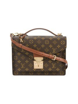 Louis Vuitton Vintage foldover logo bag - Brown