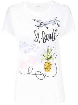 Allude St. Barth T-shirt - White