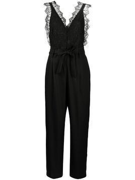 Sandro Paris Alexis lace jumpsuit - Black