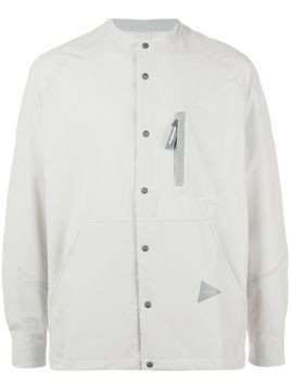 and Wander multi-pocket shirt - NEUTRALS