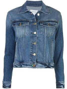 Frame slim-fit denim jacket - Blue