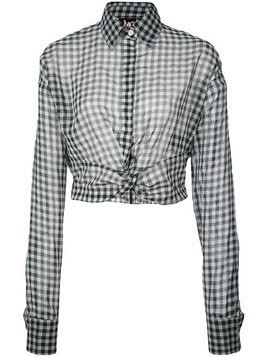 Haculla plaid blouse - White