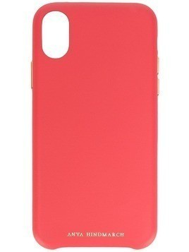 Anya Hindmarch Pimp Your Phone iPhone X case - Pink