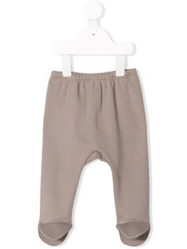 Douuod Kids flap feet soft leggings - Grey