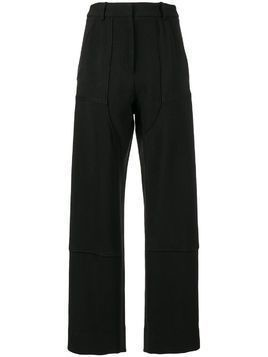 Christopher Esber Utility high-waisted trousers - Black
