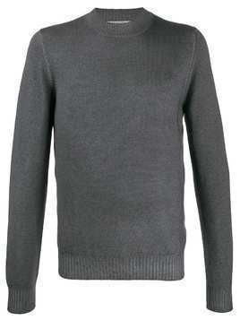 La Fileria For D'aniello ribbed knit detail sweater - Green