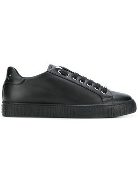 Philipp Plein embossed logo sneakers - Black