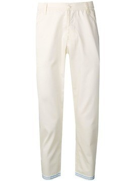Corelate cropped trousers - White