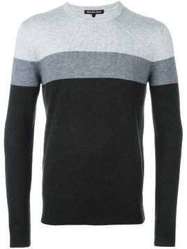 Michael Kors Collection striped jumper - Grey