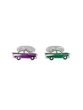 Etro car cufflinks - Green