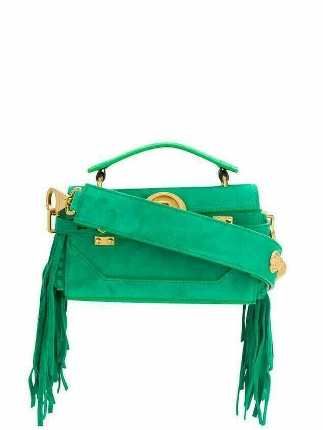 Balmain B-Buzz 19 Baguette bag - Green