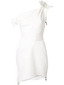Maticevski Potion one-shoulder dress - White