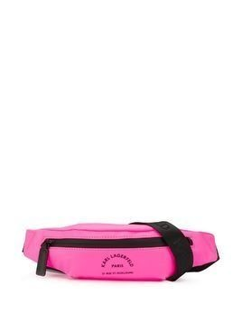 Karl Lagerfeld neon belt bag - PINK