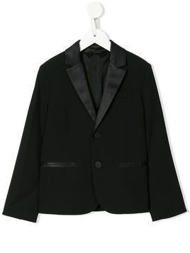 Emporio Armani Kids two-piece tuxedo suit - Black