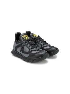 Bumper Lamborghini tongue patch sneakers - Black