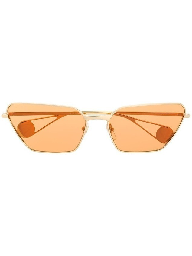 Gucci Eyewear cat eye sunglasses - NEUTRALS
