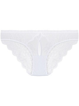 Maison Close La Directrice panties - White