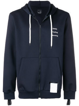Satisfy zip-up hoodie - Blue