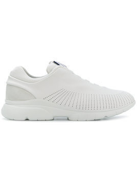 Ermenegildo Zegna perforated slip-on sneakers - White
