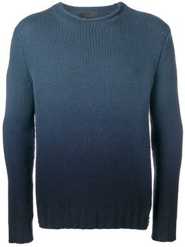 Iris Von Arnim degradé effect jumper - Blue