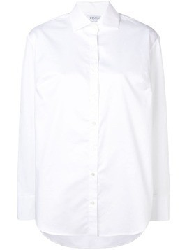 Osman pointed collar shirt - White