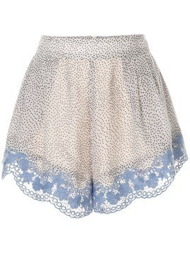 We Are Kindred Argentina dotted shorts - White