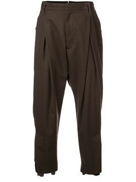 Bed J.W. Ford tapered trousers - Brown