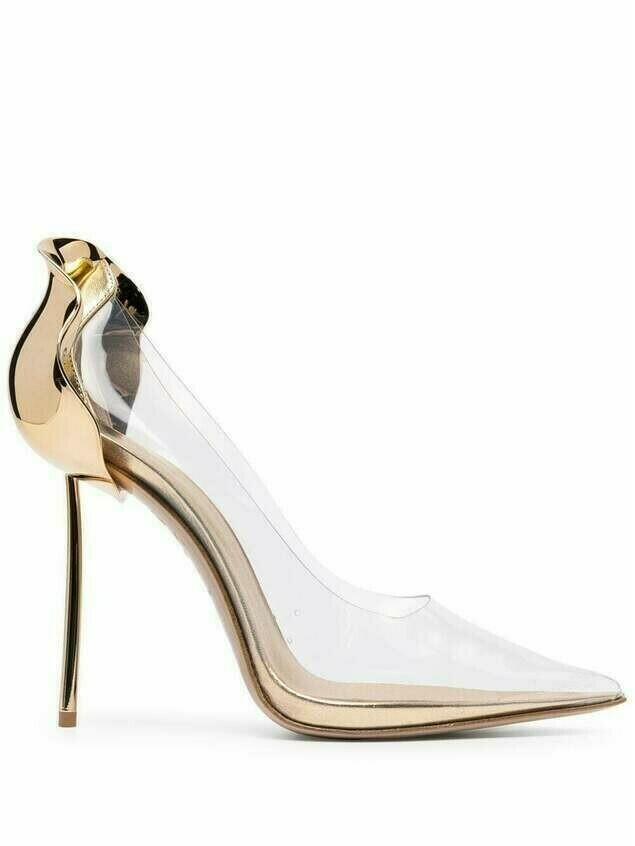 Le Silla metallic-detail pumps - Neutrals