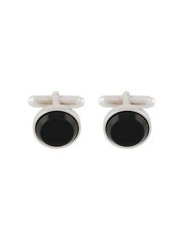 Prada stone cufflinks - Metallic