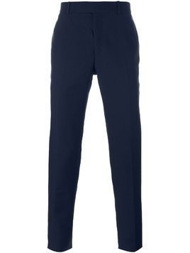 Alexander McQueen straight leg trousers - Blue