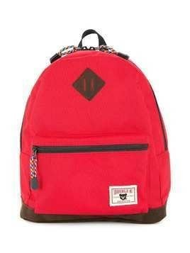 Miki House logo backpack - Red