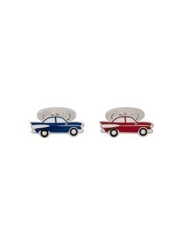 Etro Classic Car cufflinks - Blue
