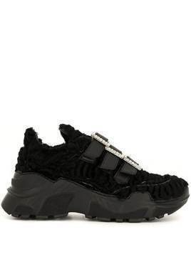 Giambattista Valli triple-buckle trainers - Black