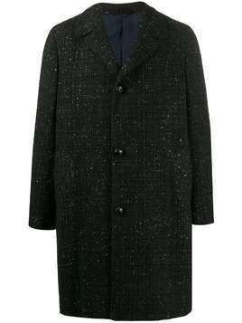MP Massimo Piombo Douglas coat - Black