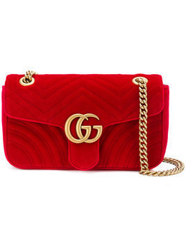 Gucci GG Marmont shoulder bag - Red