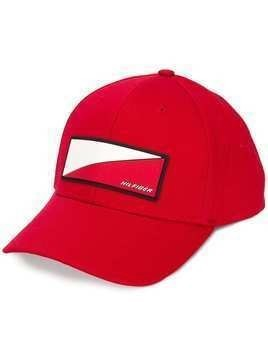 Hilfiger Collection logo baseball cap - Red