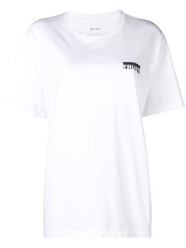 Julien David round neck T-shirt - White
