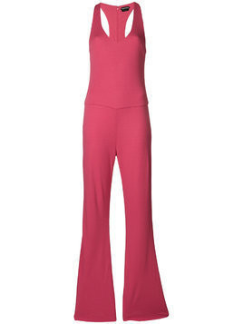 Tom Ford wide leg jumpsuit - Pink & Purple