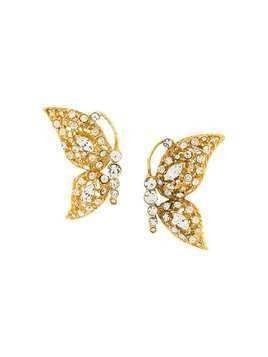 A.N.G.E.L.O. Vintage Cult 1980s butterfly earrings - GOLD
