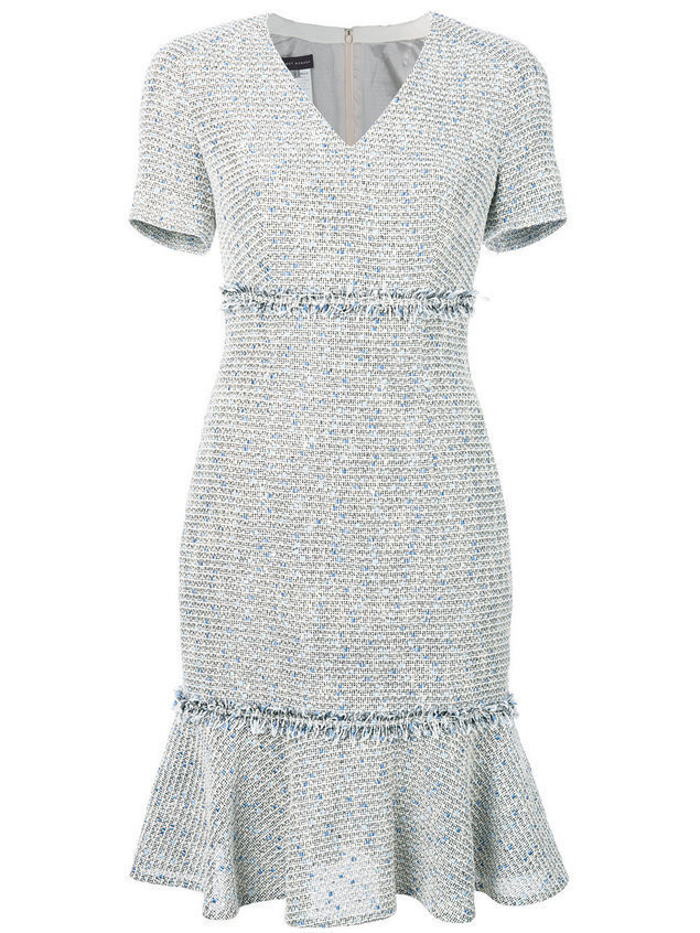 Talbot Runhof Polyanna1 dress - Neutrals