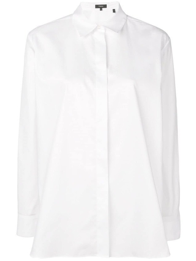 Theory collared shirt - White