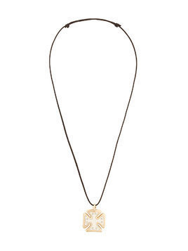Gavello diamond Maltese pendant necklace - Metallic