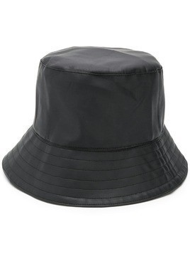 Manokhi faux leather bucket hat - Black