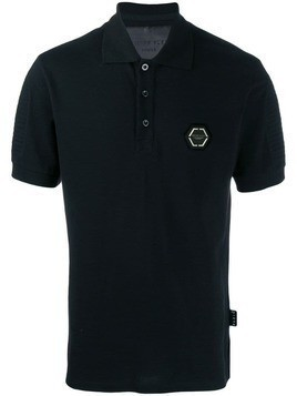 Philipp Plein Statement polo shirt - Black